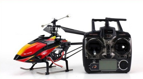 the heli and the tx